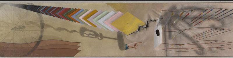 Tu m' - Marcel Duchamp 1918 (© Yale Art Gallery)
