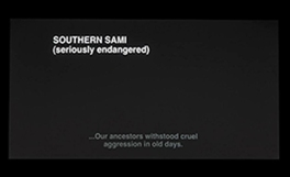 Southern Sami - Susan Hiller 2007/8 (© Susan Hiller)