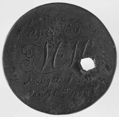 Convict love token from M.M., 1828 (© © British Museum)